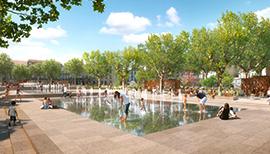 Beziers Place Jean Jaures