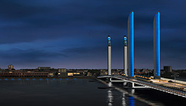 Bordeaux Pont Jacques Chaban-Delmas