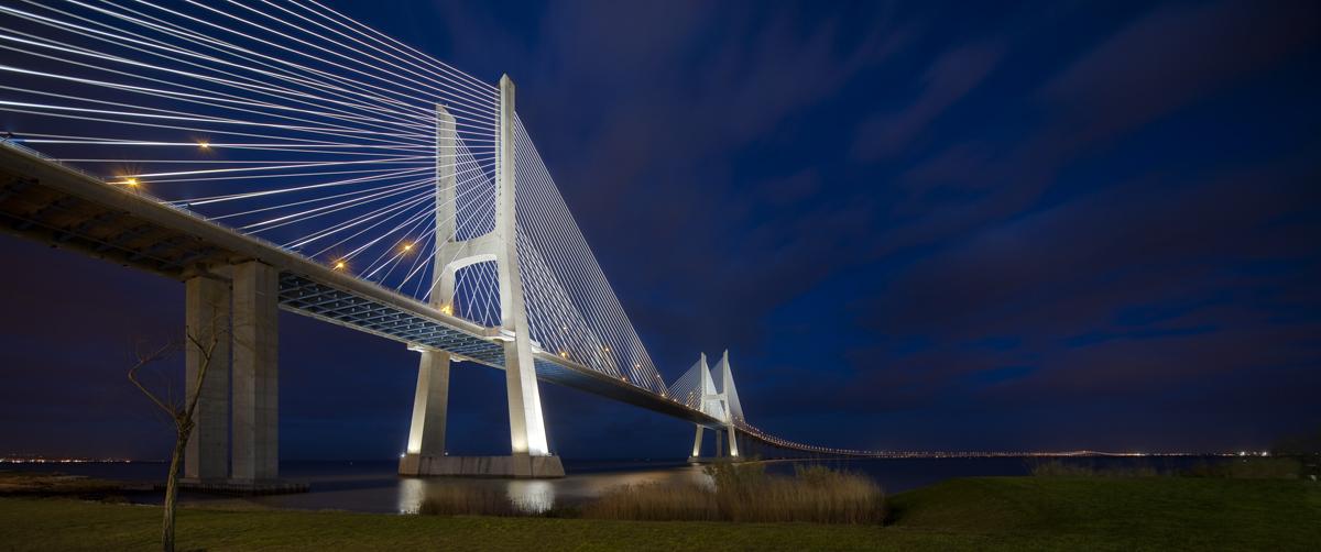 Pont Vasco de Gama à Lisbonne (Portugal) pour Vinci