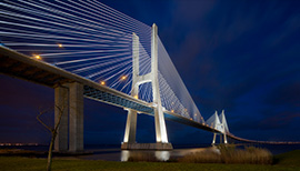 Lisbonne Pont Vasco Gama