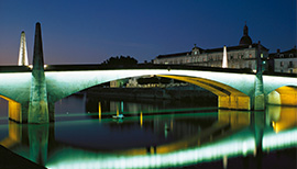 Chalon Saône Pont St Laurent