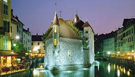Annecy Palais de l'Îsle